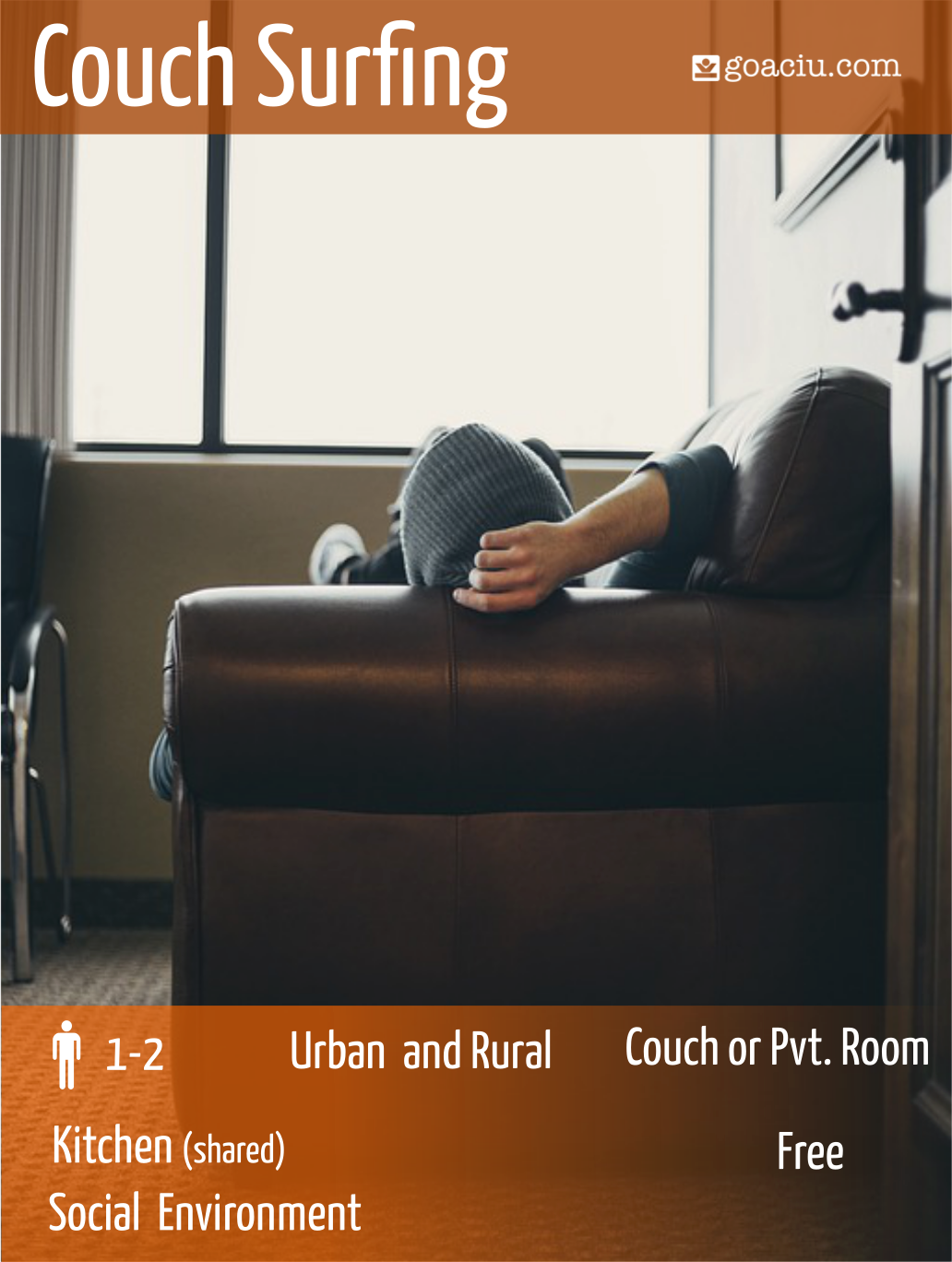 Couchsurfing in Europe