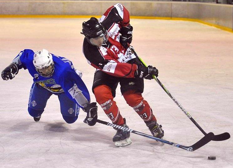 Playing hockey in Mannheim