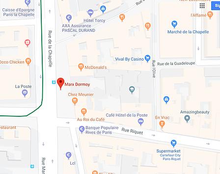 Google Maps area of interest
