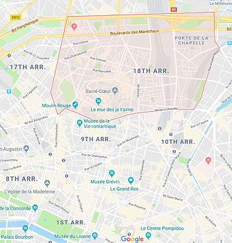 Paris Map