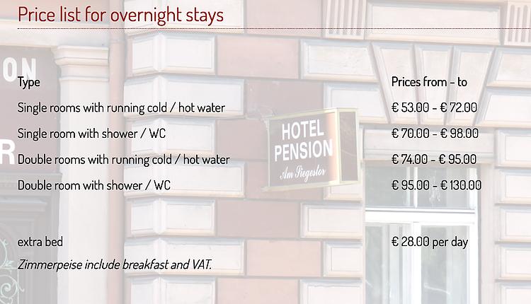 English Pension Hotel