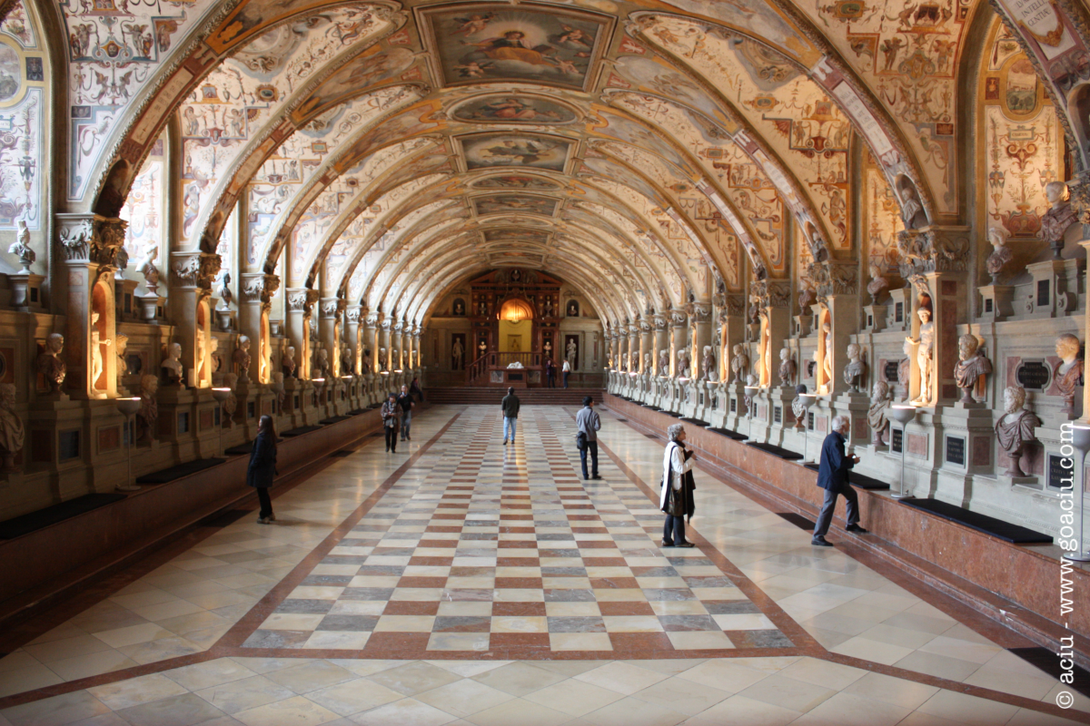 Antiquarium, Residenz, Munich