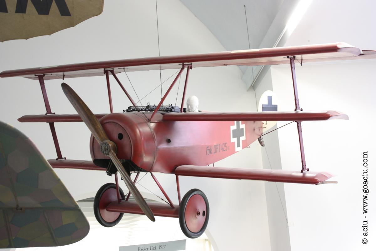 Fokker Triplane - Deutsches Museum