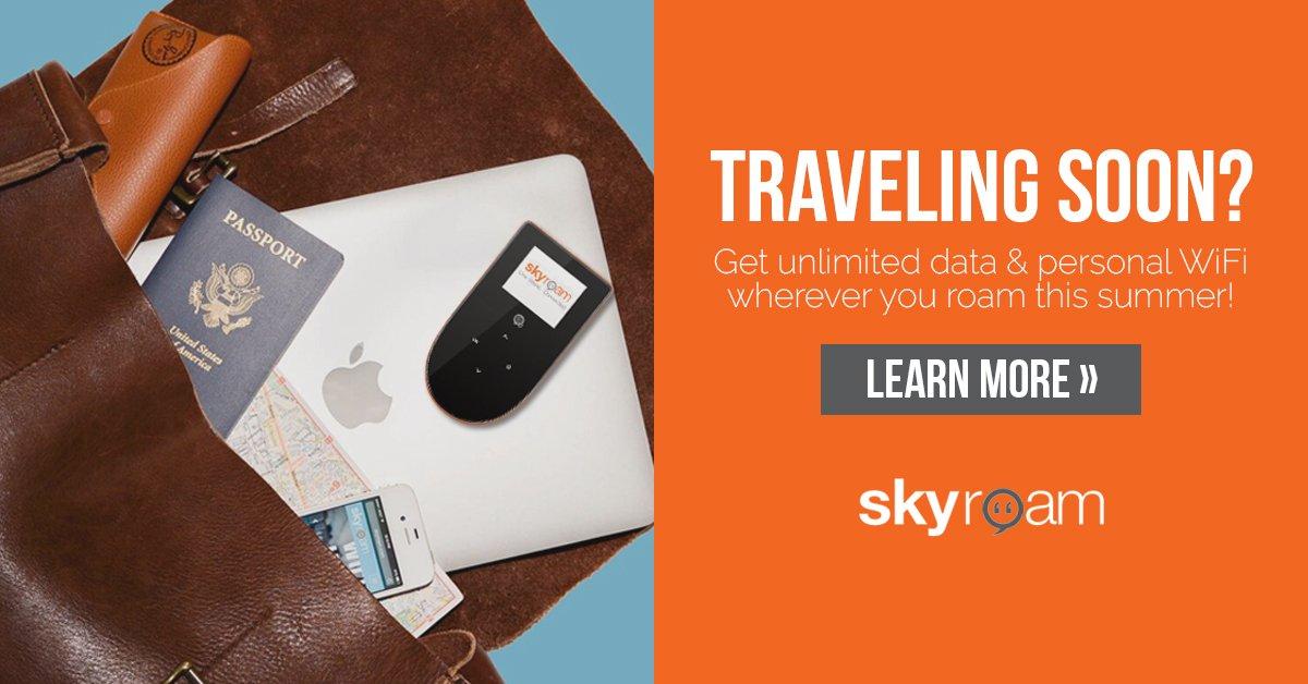 Skyroam Travelling Soon
