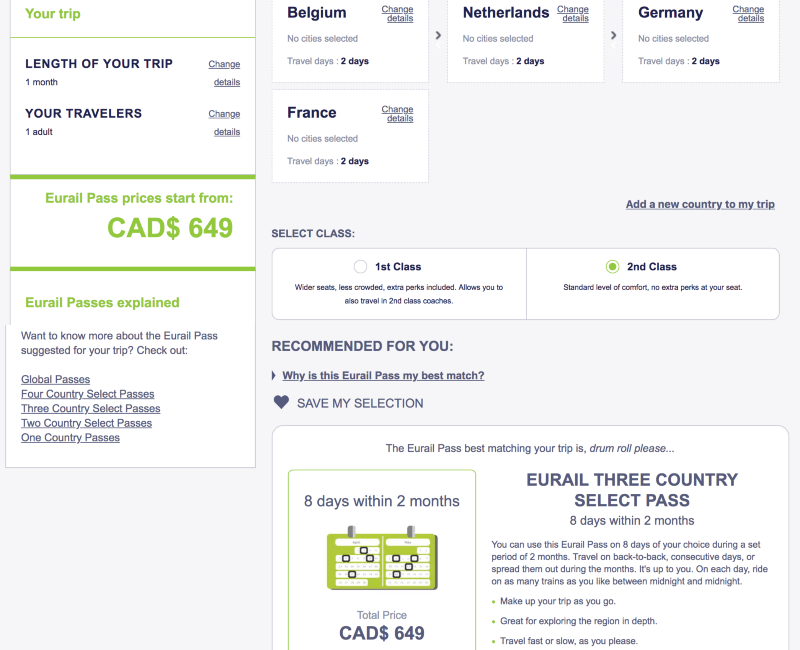 How to Book a Eurail Pass 4