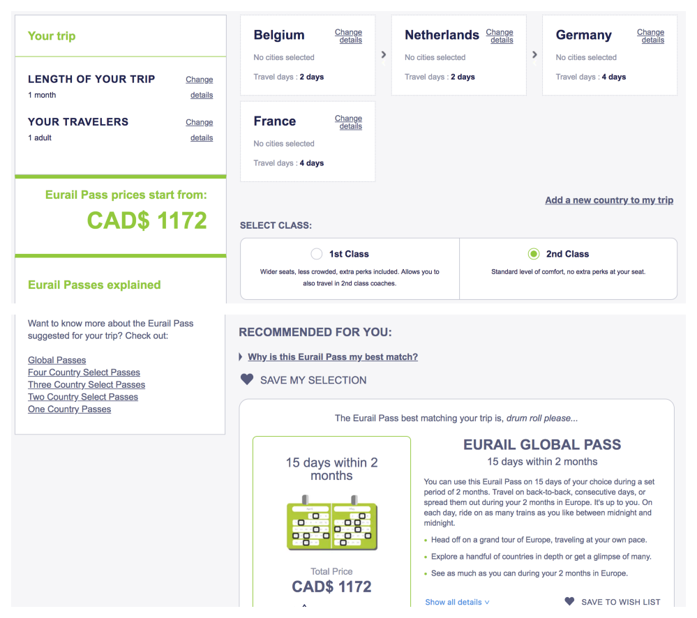 How to Book a Eurail Pass 5