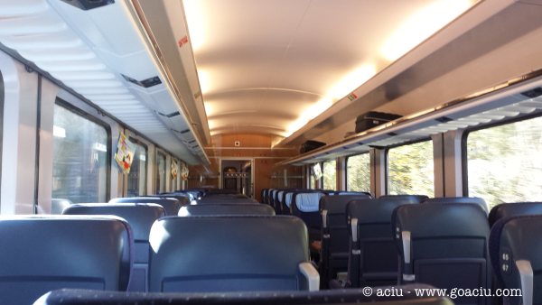 Second Class Seating in Europe