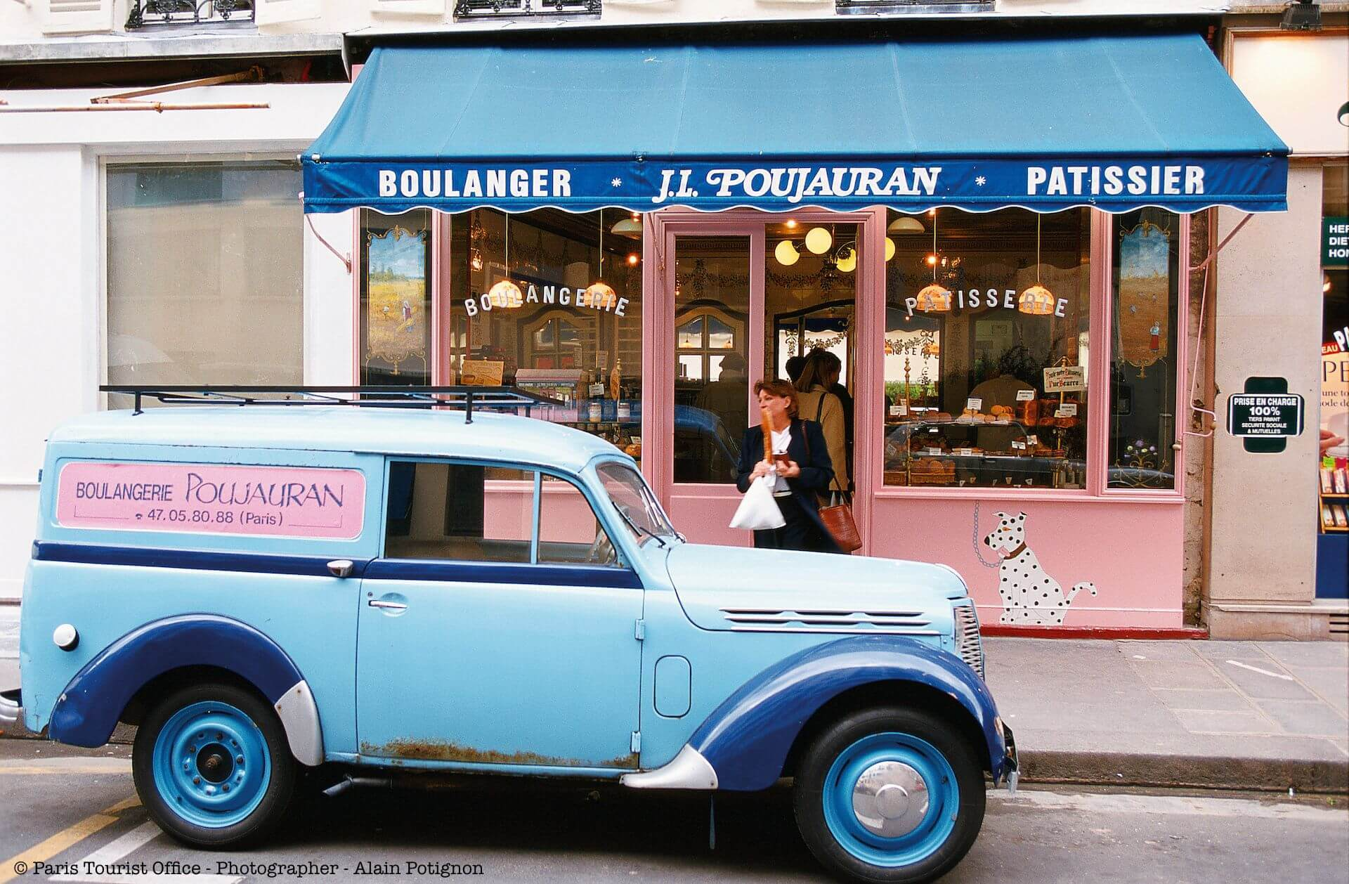 Bakery in the Invaildes District - Paris