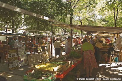 Marché biologique des Batignolles - Paris