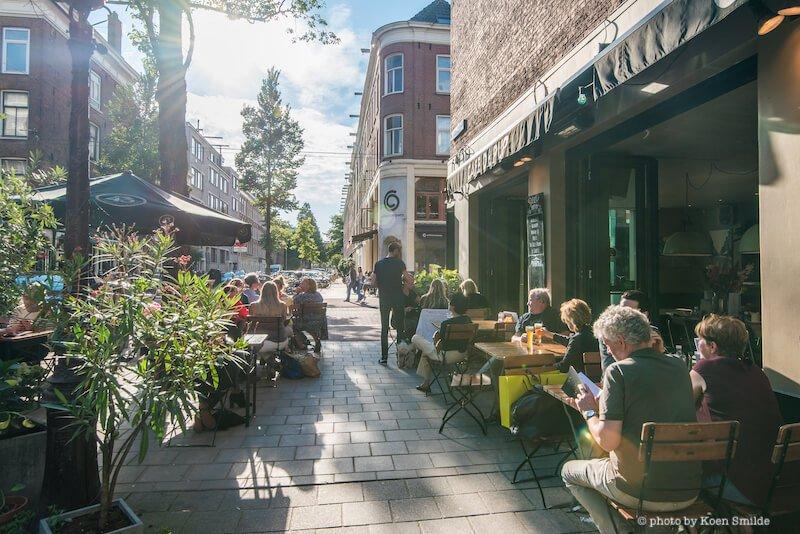 Daniël-Stalperstraat Café de Pijp Terrace