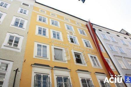 Mozart's Geburtshaus - Birthplace