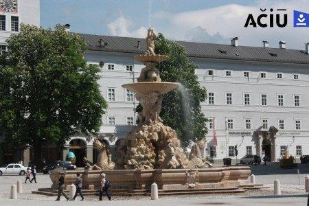 Residenz Fountain, Salzburg