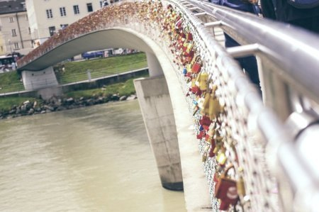 Markartsteg - Love Lock Bridge, Salzburg