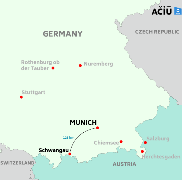Schwangau and Neuschwanstein