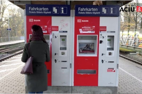 DB Ticket Machine in Germany