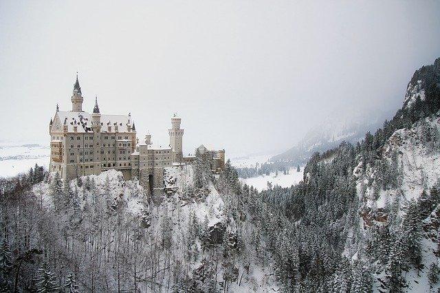 Neuschwanstein in the Winter