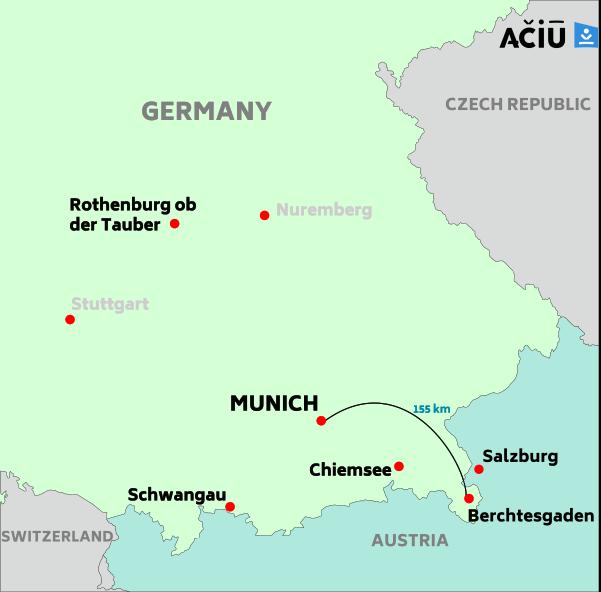 Munich to Berchtesgaden