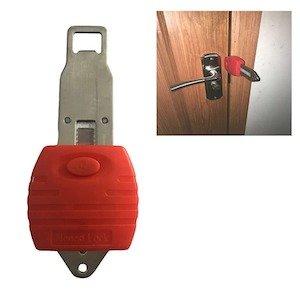 Ratchet Portable Door Lock