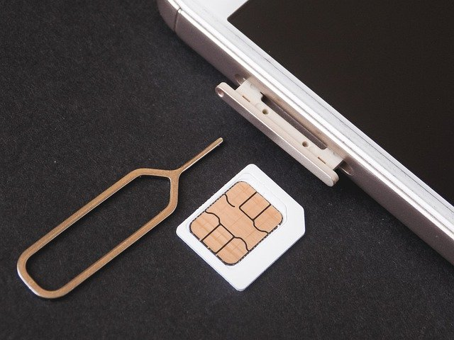 SIM card and ejector