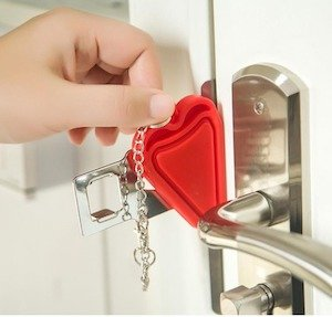 Two-Sided Portable Door Lock