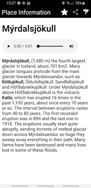 Iceland Road Guide Information
