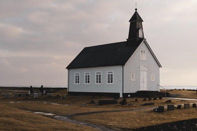 Strandarkirkja in Iceland near Gata Free Camping
